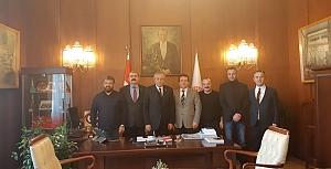 MARUM-DER(Marmara Üniversitesi Mezunları ve Mensupları Dayanışma Derneği Bir Dizi Ziyaret Gerçekleştirdi