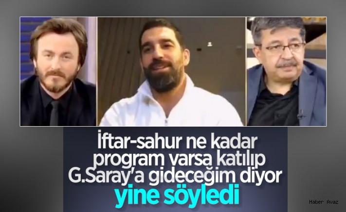 Arda Turan: İlk tercihim Galatasaray'da oynamak