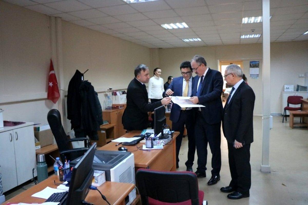 Başsavcı Şen, Denetimli Serbestlik Müdürlüğünü teftiş etti