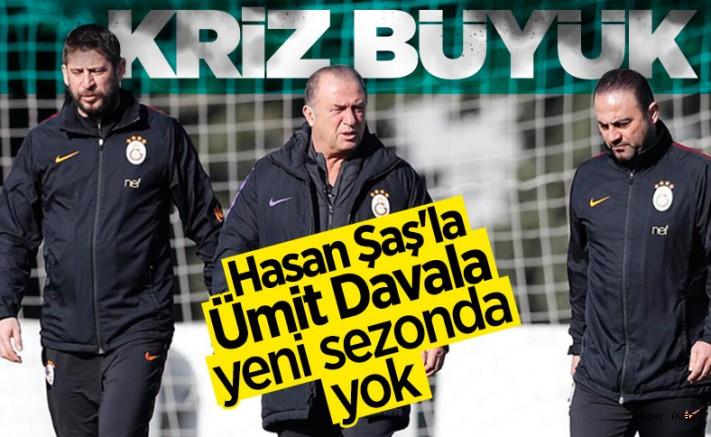 Hasan Şaş ile Ümit Davala yeni sezonda olmayacak