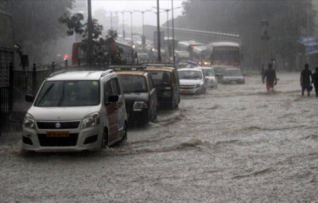 Hindistan'da şiddetli yağışlar bir haftada 59 can aldı