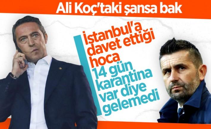 Hoca arayan Fenerbahçe, koronavirüse takılıyor