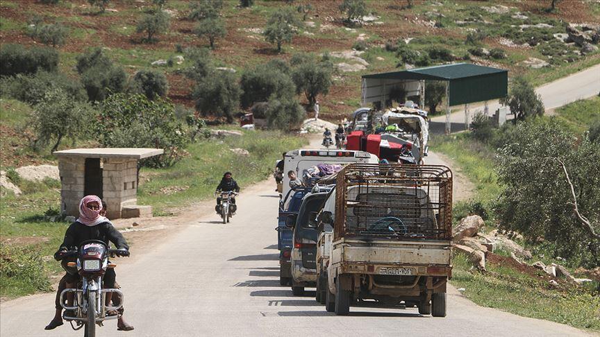 İdlib'de ateşkesin üçüncü ayında evine dönen sivillerin sayısı 271 bine ulaştı