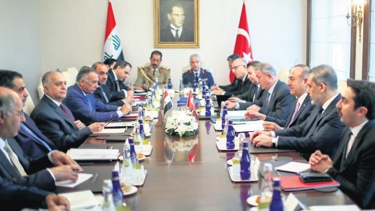 Irak ile askeri iş birliğinde ilk adım