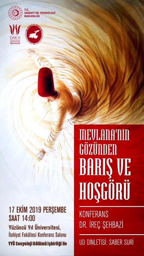 İreç Şehbazi'den 'Mevlana' konferansı
