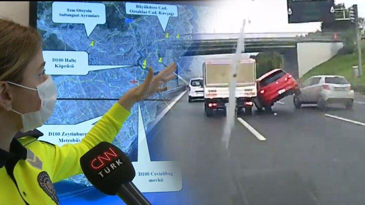 İstanbul'un kara noktaları! İşte en çok kaza yapılan yerler