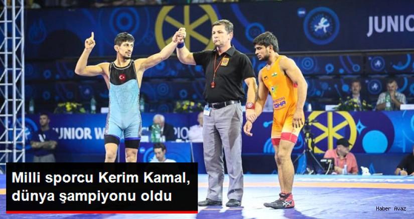 Kerem Kamal, Dünya Gençler Güreş Şampiyonasında Altın Madalya