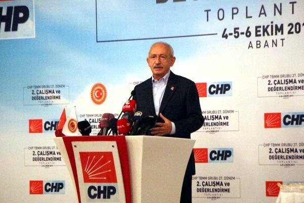 Kılıçdaroğlu: biz her konuda çözüm üreten terk partiyiz