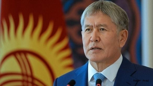 Kırgızistan Eski Cumhurbaşkanı Atambayev'e Operasyon