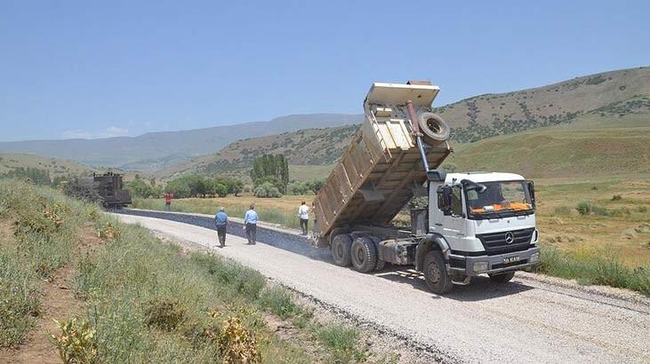 Köy yolları 2023'e kadar 148 bin kilometreye çıkarılacak