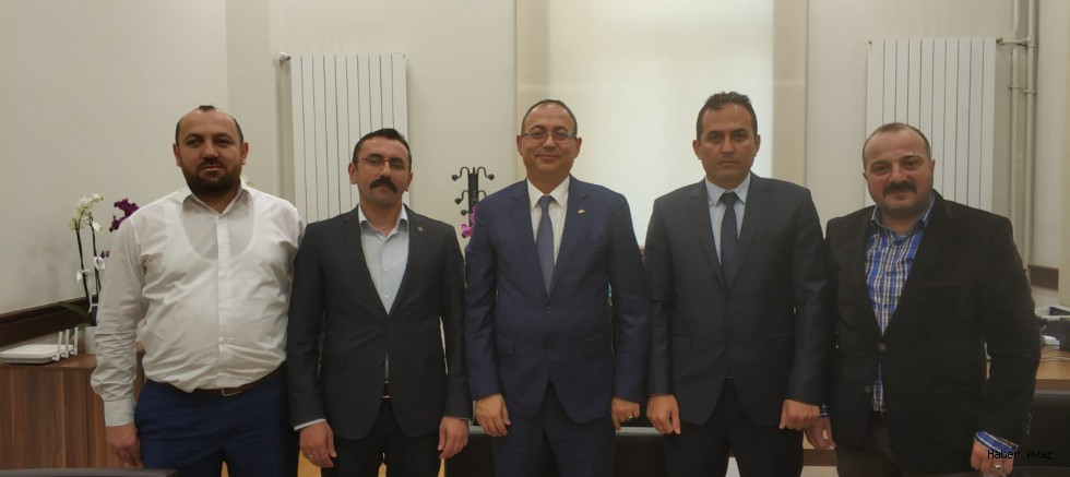 MARUMDER 'den İstanbul Üniversitesi'ne Rektör Yardımcısı olan Prof Dr İlyas Topsakal'a vefa ziyareti