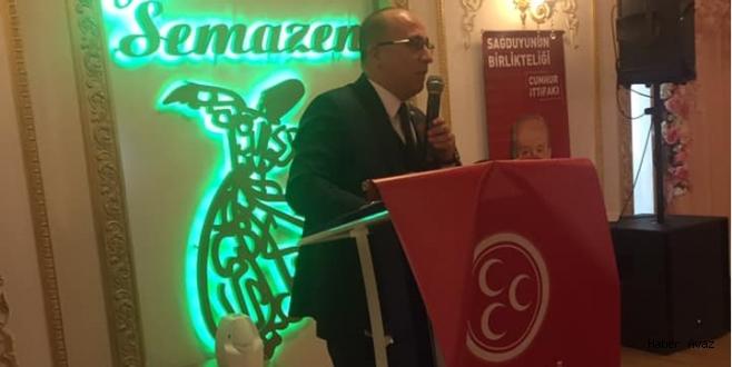 MHP Genel Başkan Yardımcısı İzzet Ulvi Yönter: İstanbul'un kaderini kandilden tayin edemezler