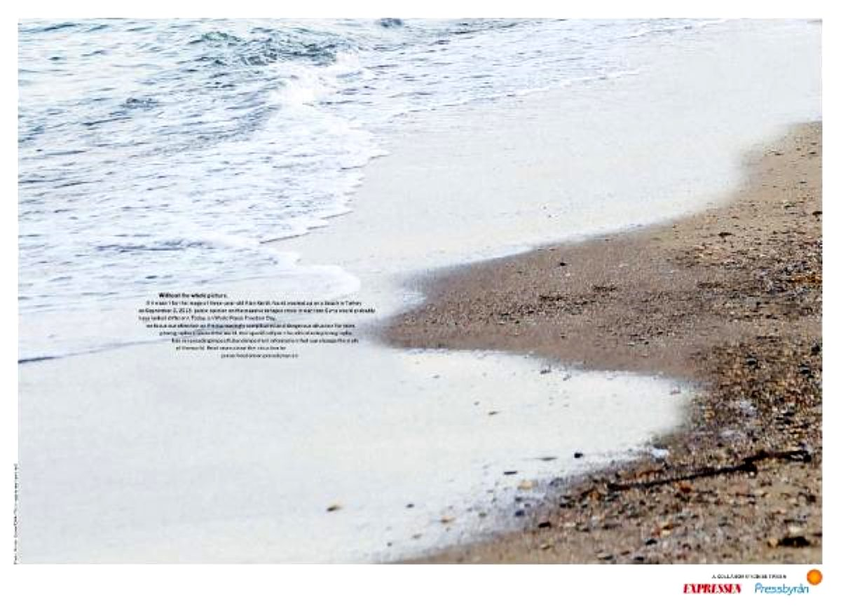 Nilüfer Demir'in Alan Kurdi fotoğrafının kullanıldığı proje Epica Ödülleri'nde birinci oldu