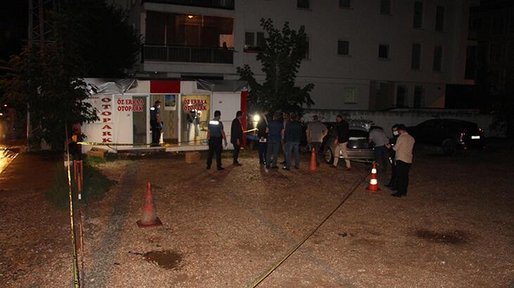 Otoparkta silahlı kavga! 1 kişi hayatını kaybetti