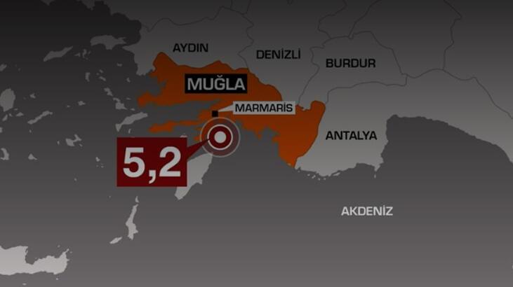 Son dakika... 5.2'lik Marmaris depremi sonrası flaş uyarı! Yıkıcı olabilir...