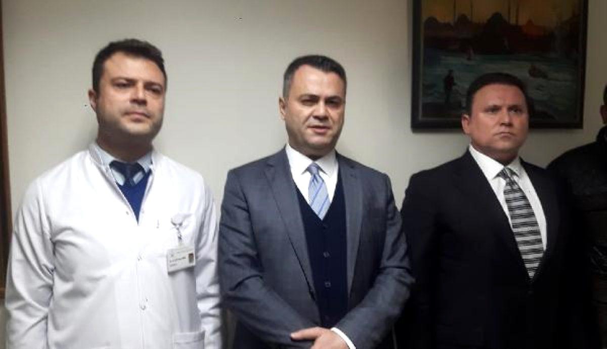 Tarsus Devlet Hastanesi'nde patlama: 5 yaralı (2)