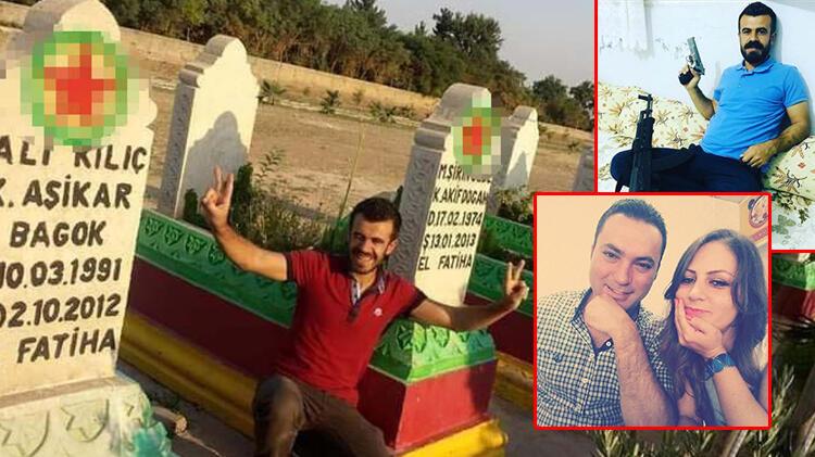 Tokkal ailesinin katil zanlısının terörist mezarlığında fotoğrafı çıktı