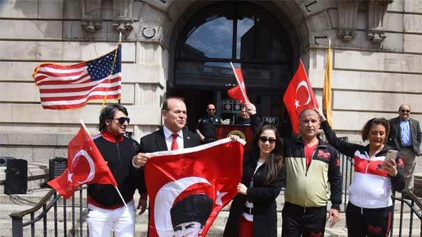 Türk yürüyüşünde Nihan Akın coşkusu