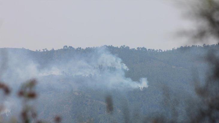 Türkmendağı'ndan dumanlar yükseliyor!